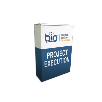 Project Success Templates® Project Execution Module