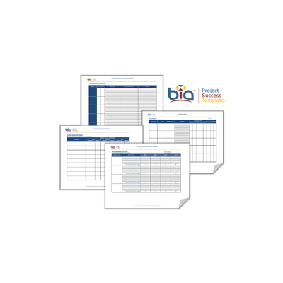 Project Success Templates® Project Portfolio Management Module